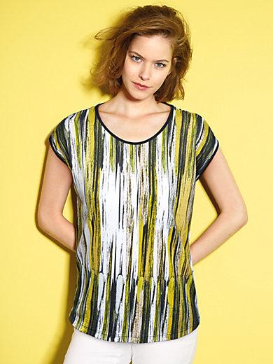 Looxent - Rundhals-Shirt mit überschnittener Schulter