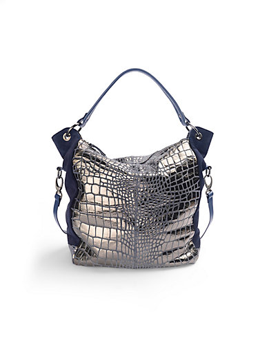 Looxent - Tasche aus Veloursleder