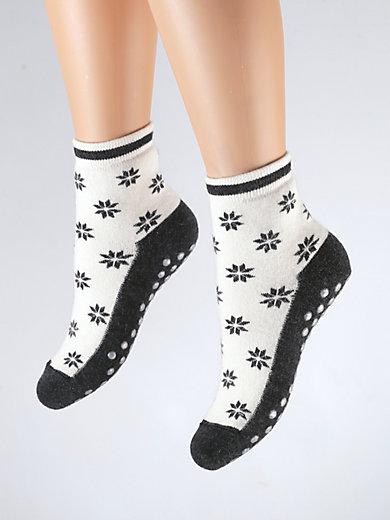 Medima - Socken mit Allover-Eissternen