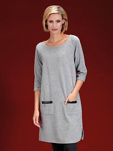 Peter Hahn - Nicki-Kleid mit 3/4-Raglan­arm