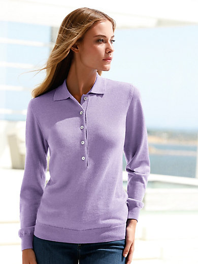 Peter Hahn - Polo-Pullover in SETALANA von BIELLA YARN