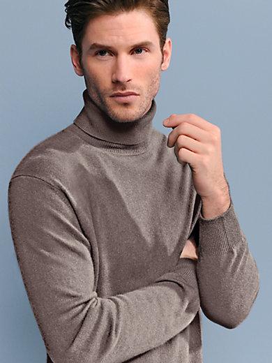 Peter Hahn - Rollkragen-Pullover aus Kaschmir– Modell ROLAND