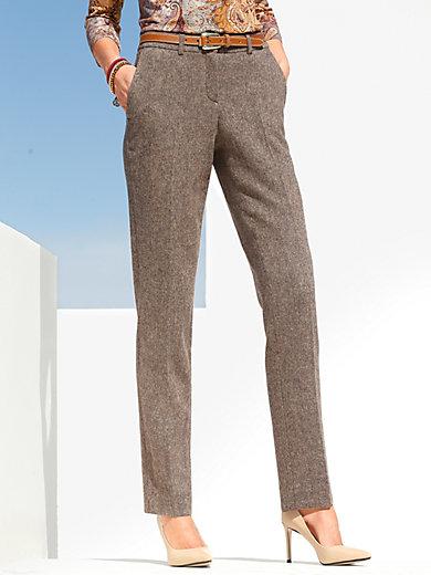 Peter Hahn - Tweed-Hose aus hochwertigem Mater