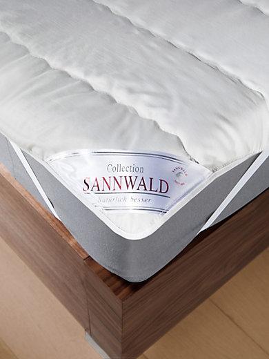Sannwald - Schurwolle-Spannauflage, ca. 100x200cm