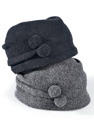 Seeberger - Walk-Mütze aus 100% Schurwolle